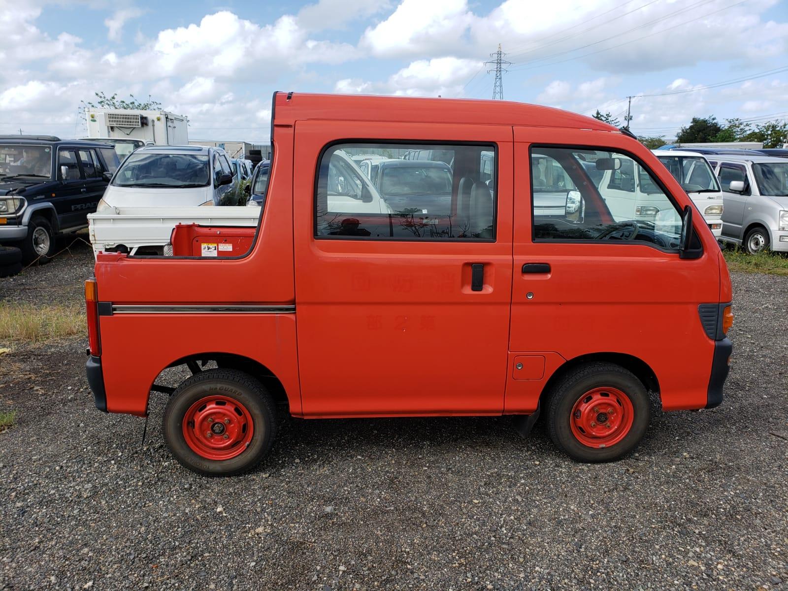 1997 Daihatsu Hijet Deck Van 4X4 660CC 5MT 11000 mi ...
